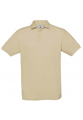 Polo homme beige