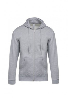 Veste sweat zippée