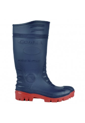 Bottes de securite batiment TYPHOON S5 BLUE/RED